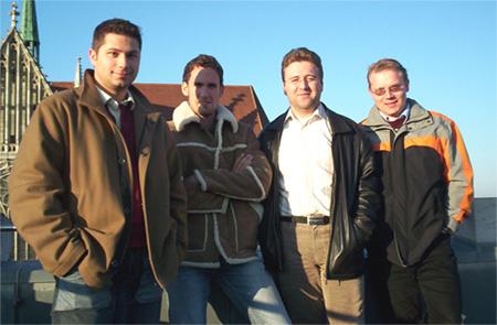 Die Shortnews (jetzt GoNamic) Führungsetage mit Stefan Zwanzger (Affiliate.de)