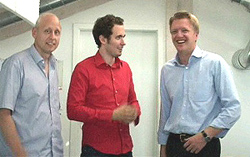 Affilinet mit Stefan Zwanzger (Mitte)
